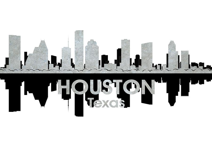 Houston Mixed Media - Houston Tx 4 by Angelina Vick