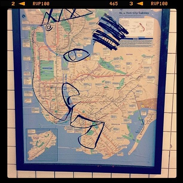 How Ill See Every Map Of Ny From Now On Photograph by Evan Kelman