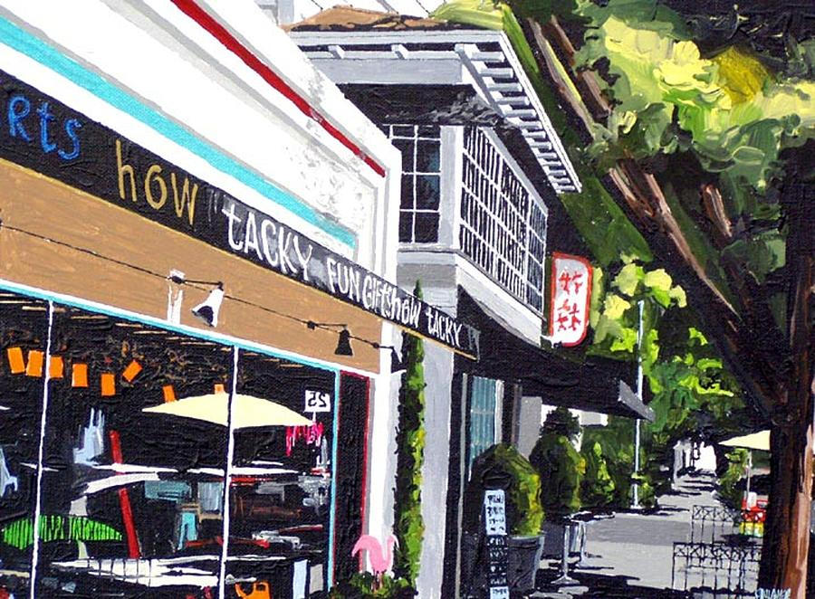 Sacramento Painting - How Tacky by Paul Guyer