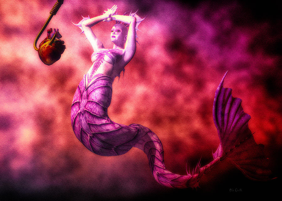 Mermaids Digital Art - How To Catch Mermaids by Bob Orsillo