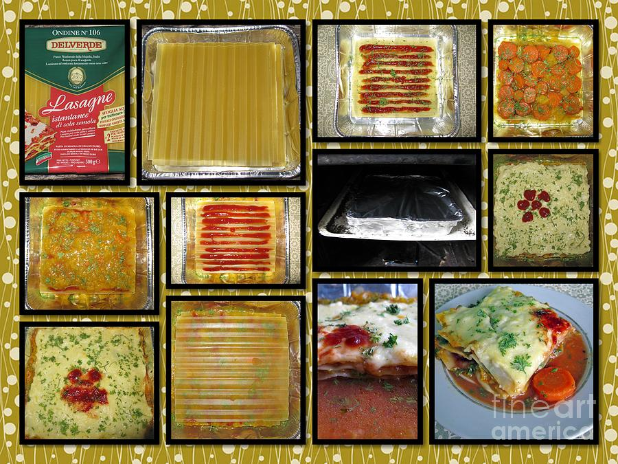 Food Photograph - How To Make Your Own Vegan Lasagne by Ausra Huntington nee Paulauskaite