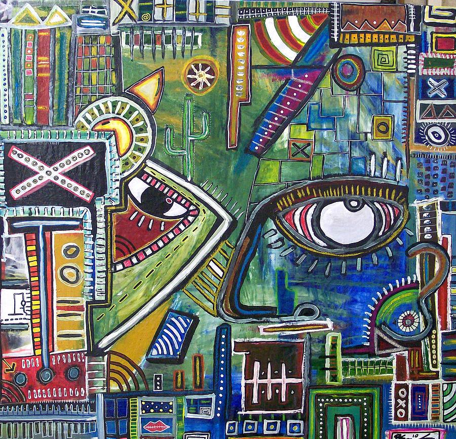 Painting Digital Art - How U Say How U Been? by Kamoni Khem