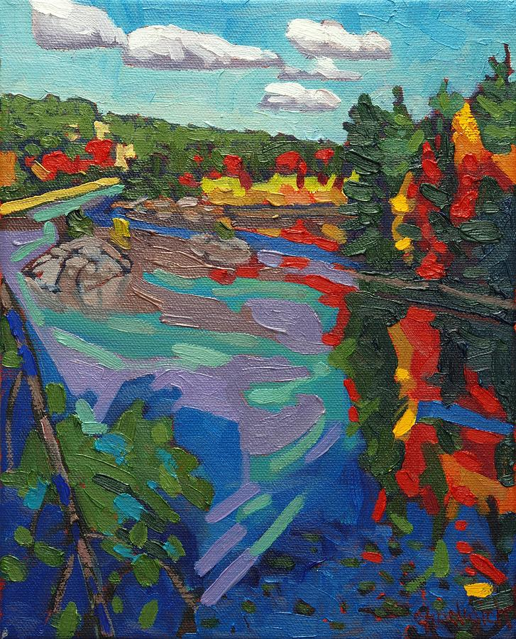 Howry Painting - Howry Creek Campsite by Phil Chadwick