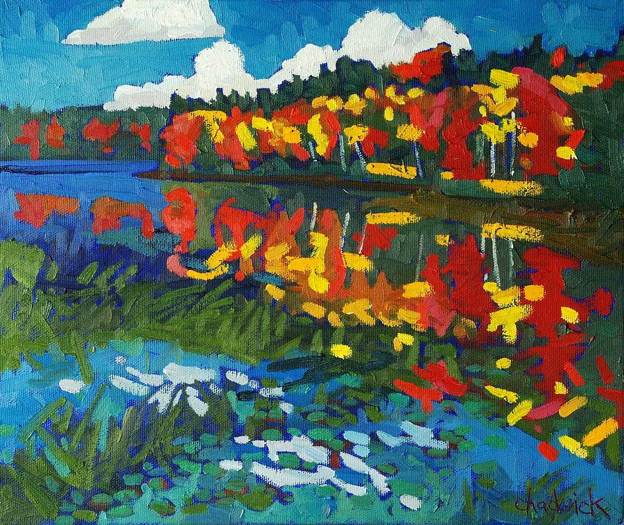 Howry Painting - Howry Creek by Phil Chadwick