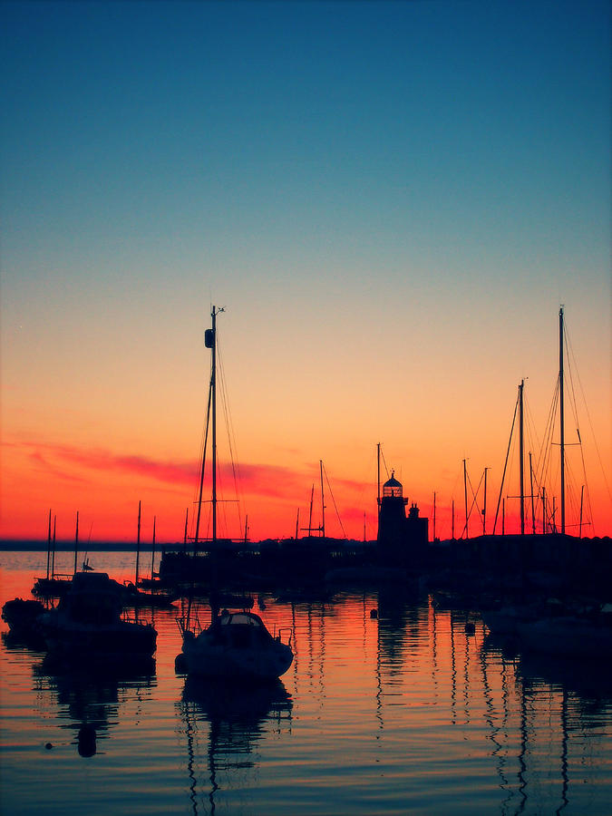 Howth Photograph - Howth Sunset by Patrick Horgan