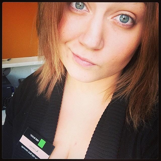 Me Photograph - H&r Block Workflow #slowday #bored by Kristine Dunn
