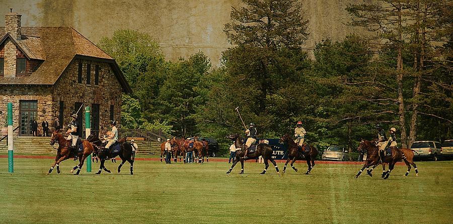 HRH Prince Harry and Greenwich Polo Club by Russ Considine