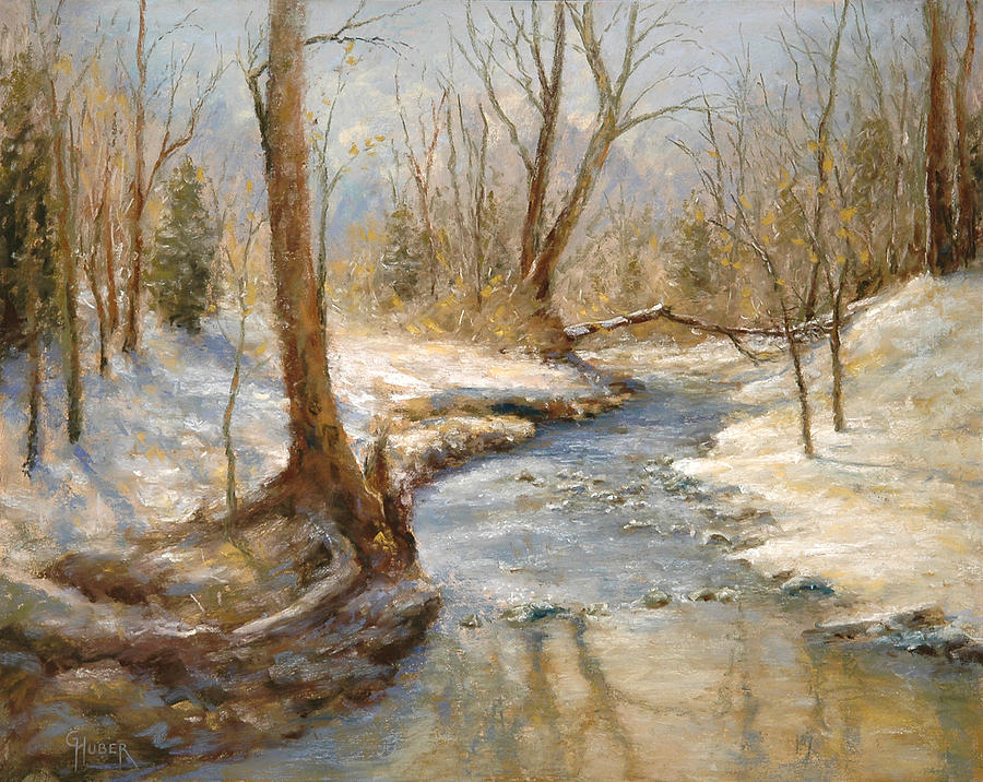 Rural Painting - Hubers Woods by Gary Huber