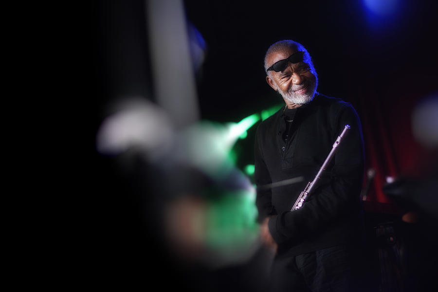Jazz Photograph - Hubert Laws by Dailey Pike