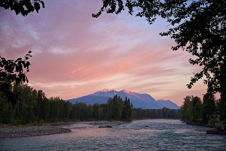 Bulkley River Photograph - Hudson Bay Mountain British Columbia by Mary Lee Dereske