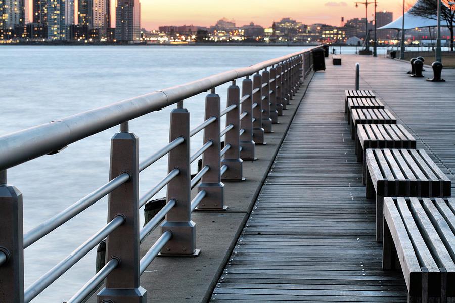 Hudson River Park Photograph - Hudson River Park by JC Findley