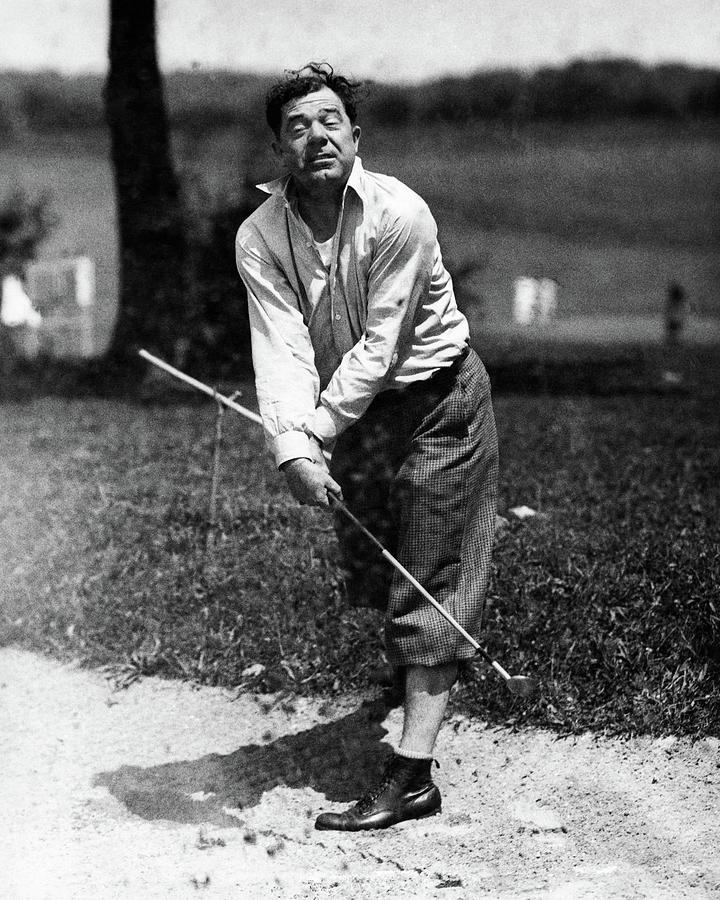 Huey P. Long Play Golf Photograph by Artist Unknown