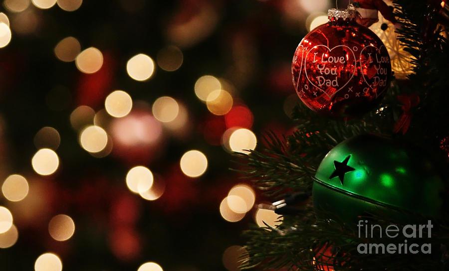 Christmas Photograph - Hugs And Kisses by Linda Shafer