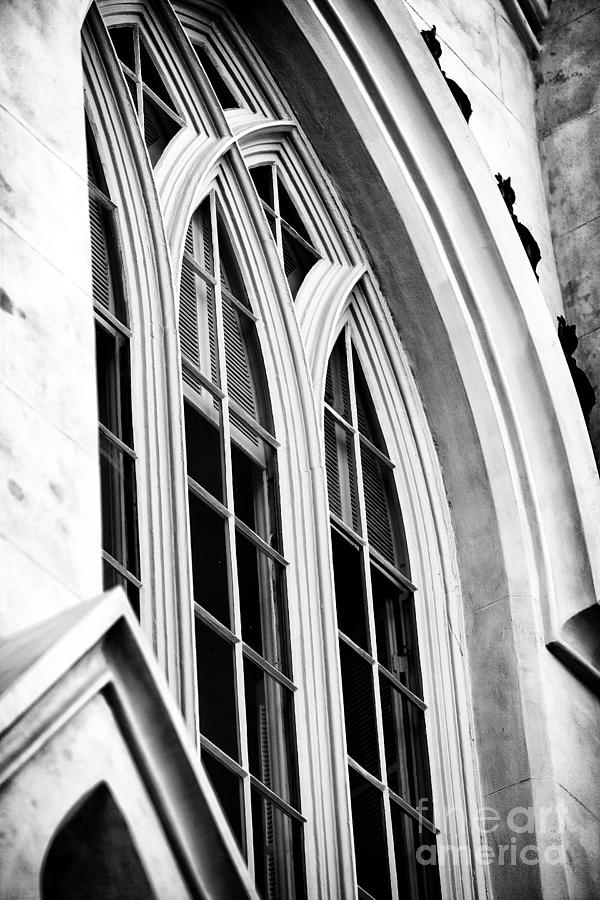 Huguenot Window Photograph - Huguenot Window by John Rizzuto