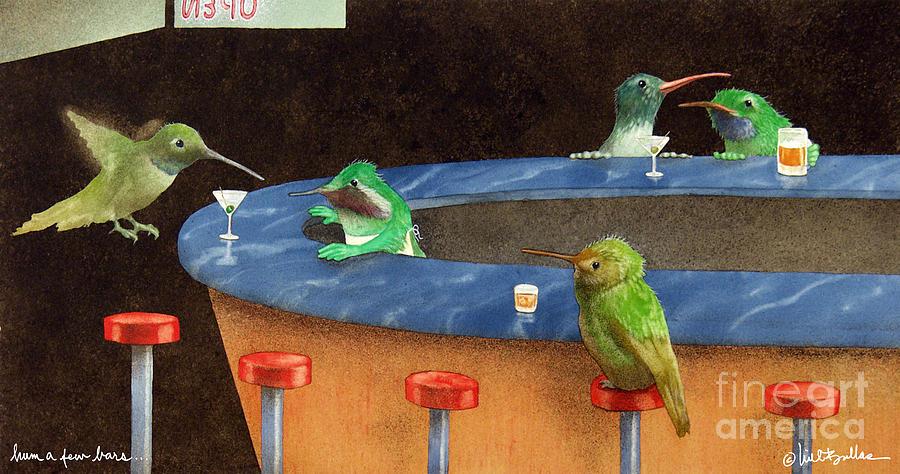 Bullis Painting - Hum A Few Bars... by Will Bullas