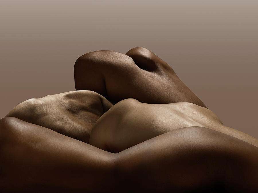 Human Bodies, Abstract Photograph by Jonathan Knowles