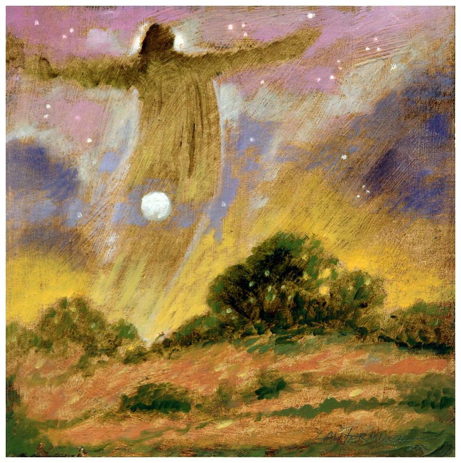 Spirit Painting - Human Spirit by John Lautermilch