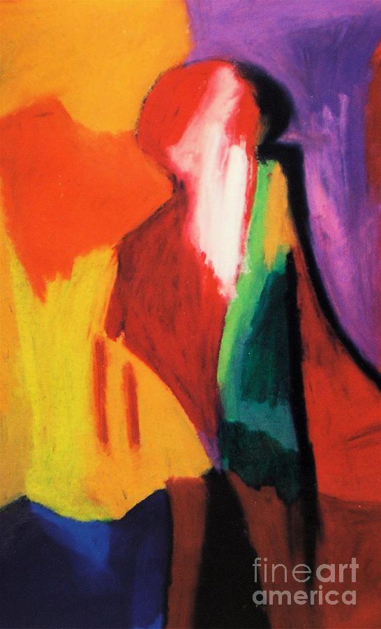 Human Understanding Pastel by Jon Kittleson