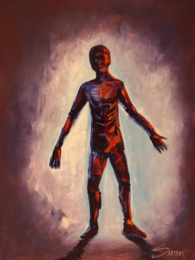 Human Painting - Humanoid by Dayna Reed