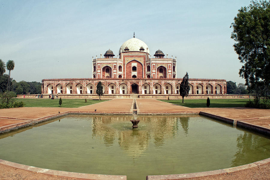 Humayuns Tomb In Charbagh Garden Photograph by Photography By Jeremy Villasis. Philippines.