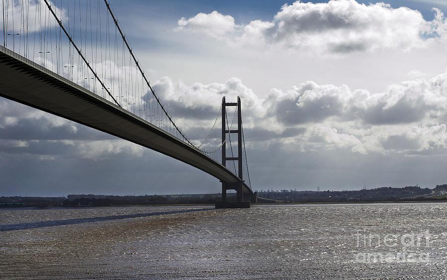 Bridge Photograph - Humber Bridge. by Andrew Barke