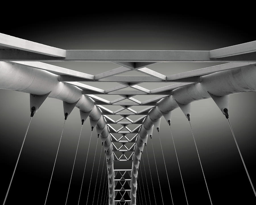 Abstract Photograph - Humber Bridge by Ivan Huang
