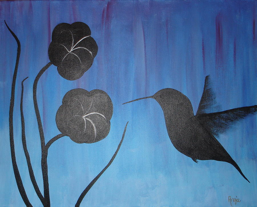 Hummingbird 12715 by Angie Butler