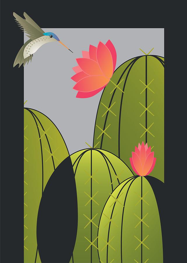 Hummingbird by Marie Sansone