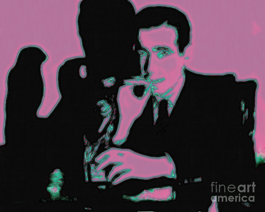San Francisco Photograph - Humphrey Bogart And The Maltese Falcon 20130323m138 by Wingsdomain Art and Photography