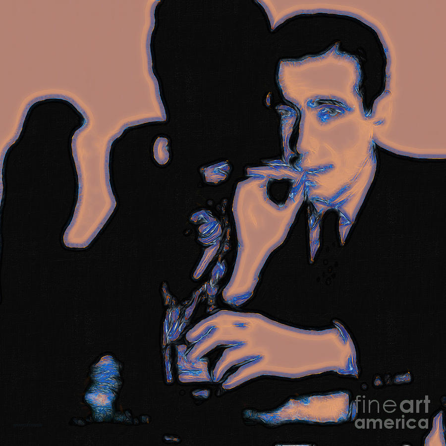 San Francisco Photograph - Humphrey Bogart And The Maltese Falcon 20130323m88 Square by Wingsdomain Art and Photography