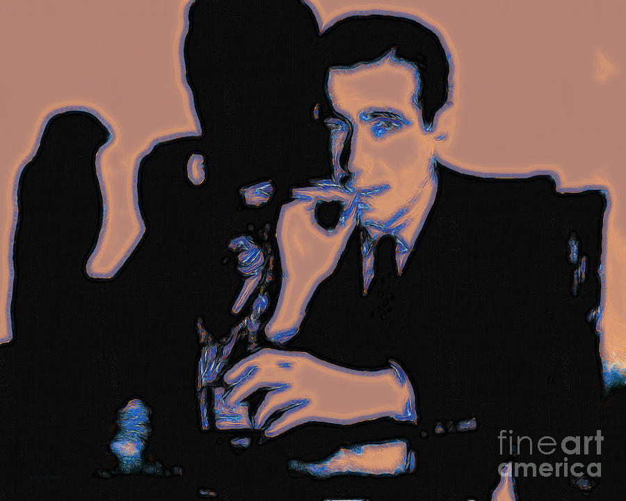 San Francisco Photograph - Humphrey Bogart And The Maltese Falcon 20130323m88 by Wingsdomain Art and Photography