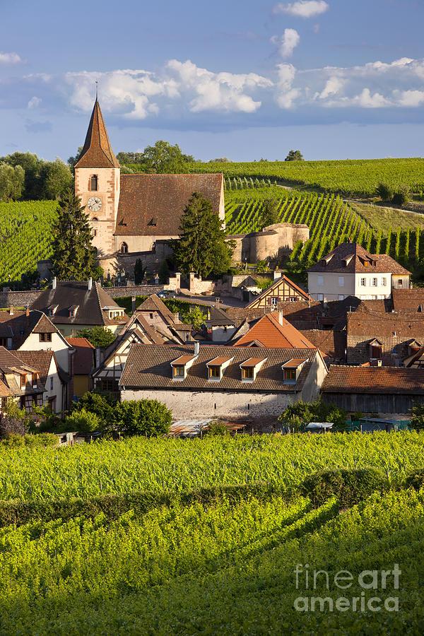 Alsace Photograph - Hunawihr by Brian Jannsen