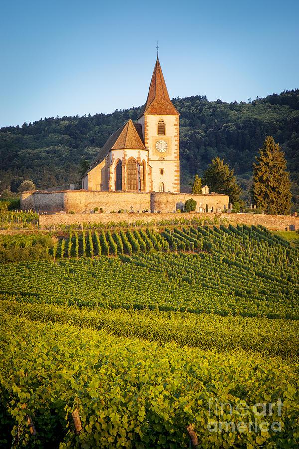 Alsace Photograph - Hunawihr Dawn by Brian Jannsen
