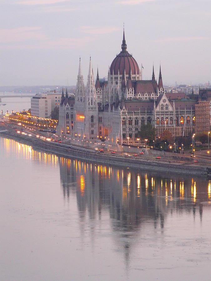 Hungarian Parliament At Sunrise Photograph by Ilona Nagy