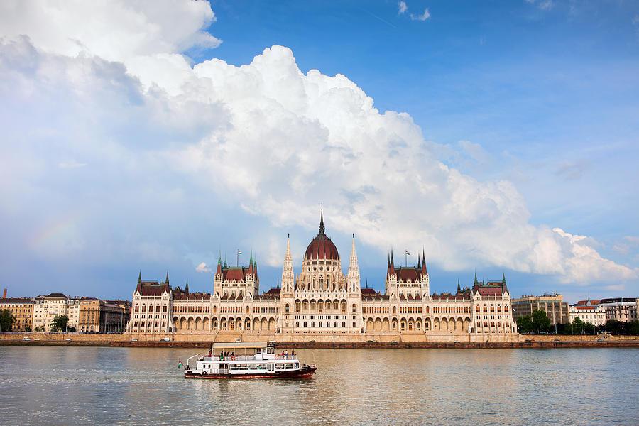 Budapest Photograph - Hungarian Parliament Building by Artur Bogacki