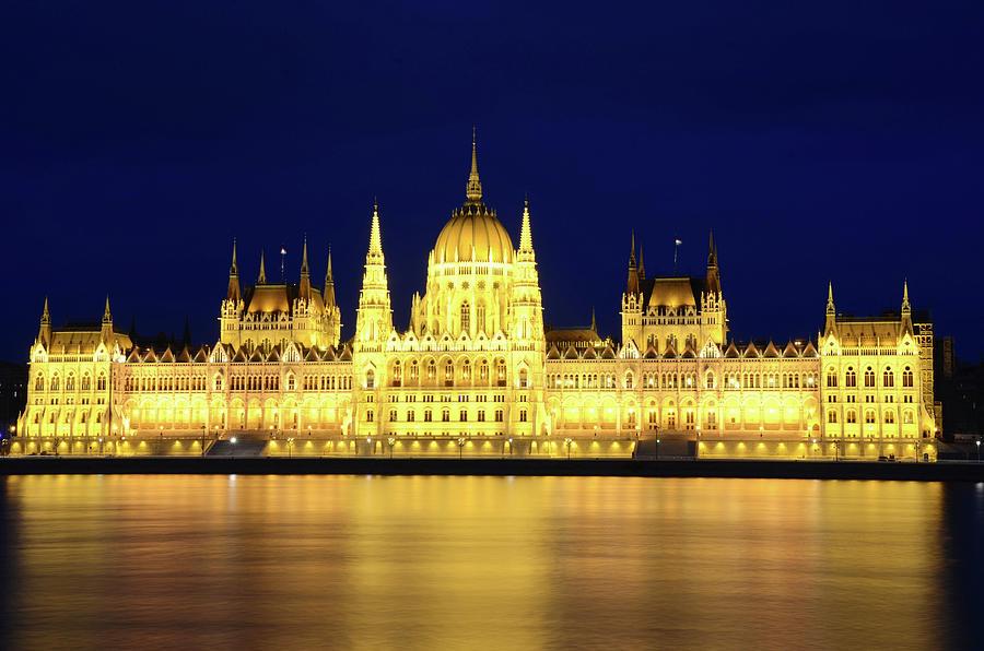 Hungarian Parliament Building, Budapest Photograph by Dragos Cosmin Photos