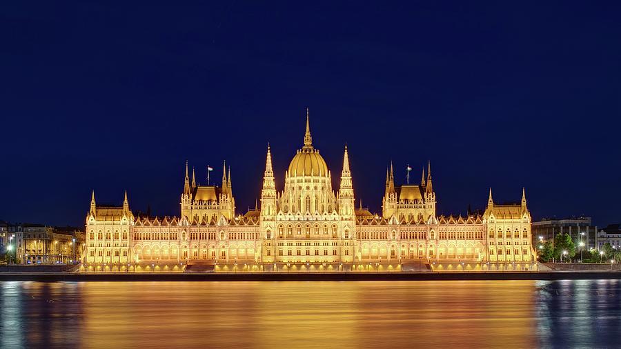 Hungarian Parliament Building, Budapest Photograph by Thomas Kurmeier