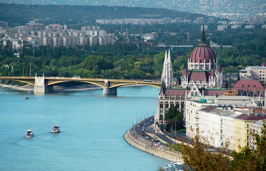 Hungarian Parliament Building Photograph by Paul Biris
