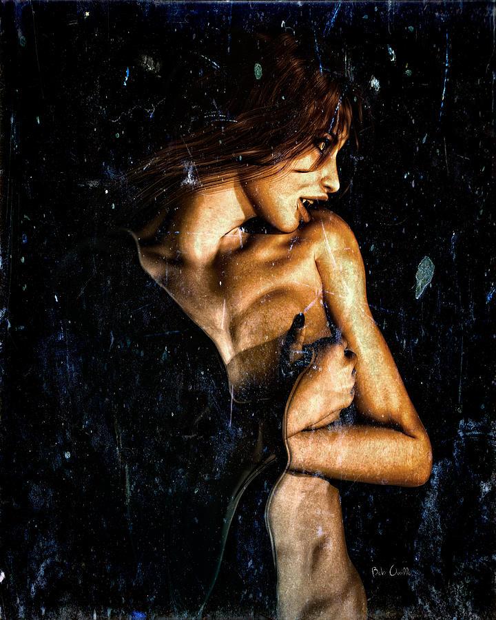 Vampire Digital Art - Hunger  by Bob Orsillo