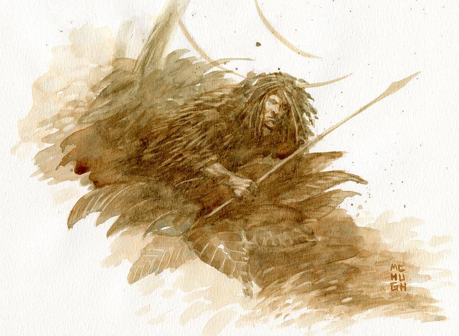 Hunter Painting - Hunter by Jeremy McHugh