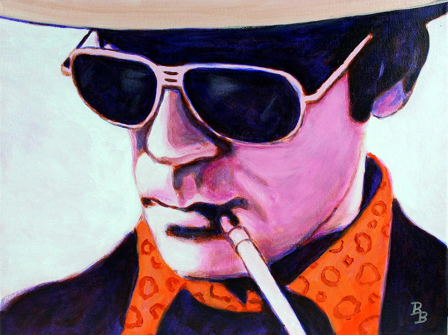 Hunter S Thompson by Bob Baker
