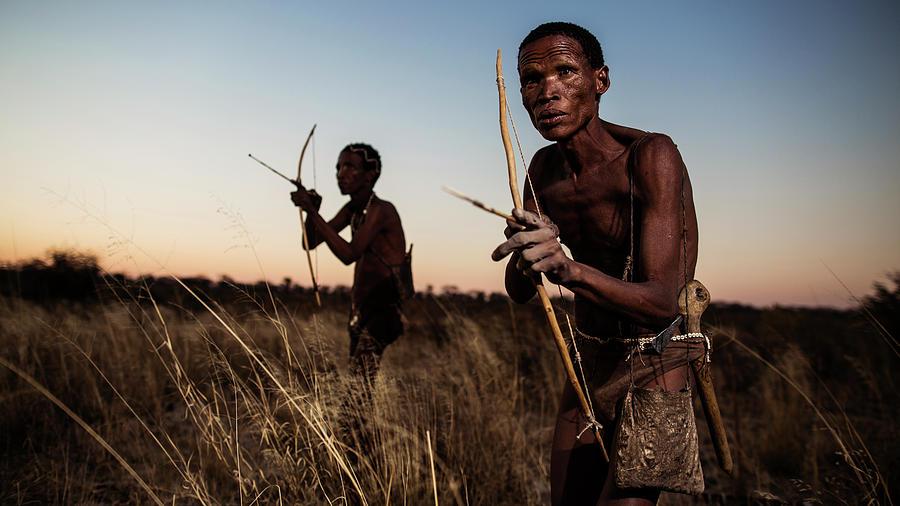Documentary Photograph - Hunters by Goran Jovic