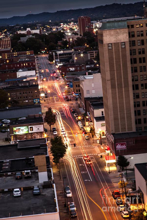 City Photograph - Huntington After Dark by Lee Wellman
