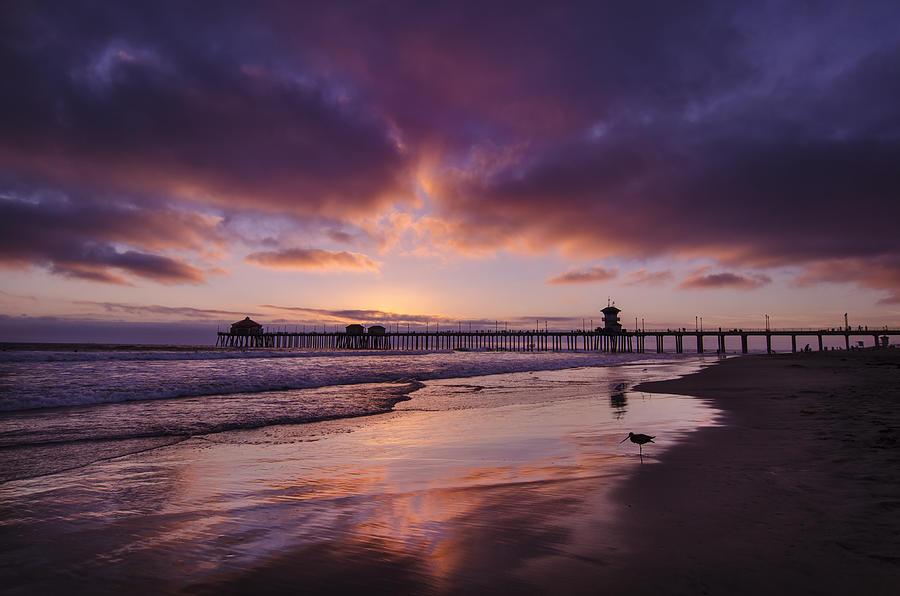 Huntington Beach Photograph - Huntington Beach California by Sean Foster