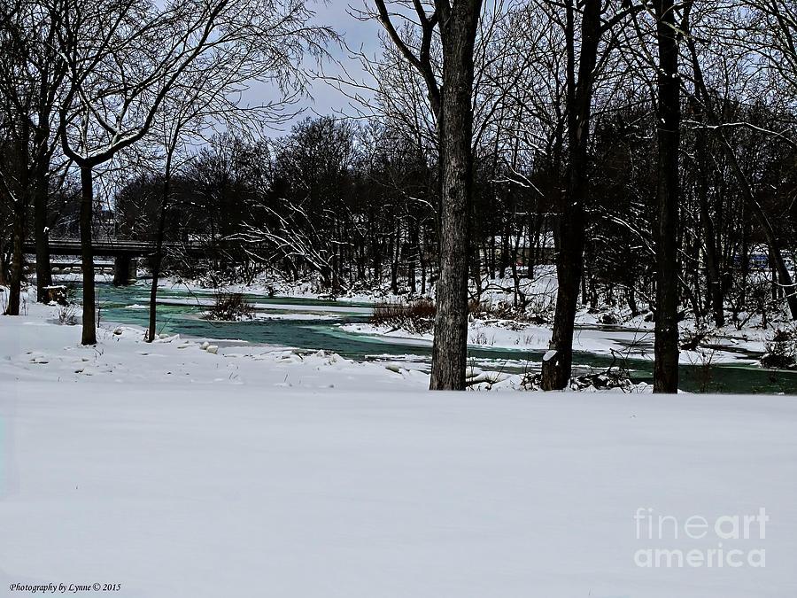 Huron River In Monroeville Photograph