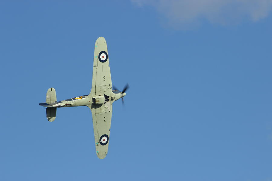 Aircraft Photograph - Hurricane In Action by Donald Turner