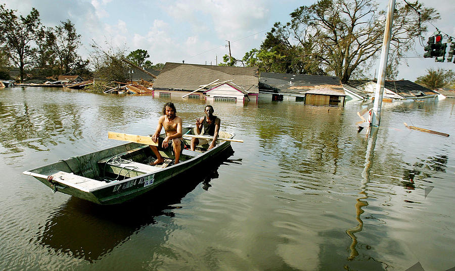 Hurricane Katrina Aftermath Photograph by Mario Tama