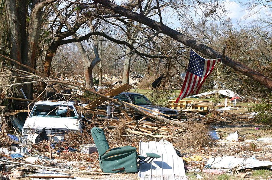 Hurricane Katrina Photograph by ParkerDeen