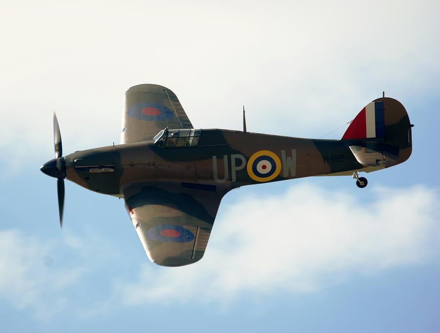 Hawker Photograph - Hurricane by Martin Jones