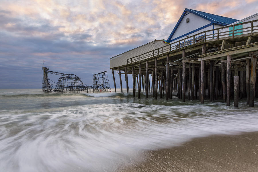 Hurricane Photograph - Hurricane Sandy by Mike Orso
